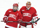 Lauriane Rougeau (Cornell - 7), Lauren Slebodnick (Cornell - 30) - The Boston College Eagles defeated the visiting Cornell University Big Red 4-3 (OT) on Sunday, January 11, 2012, at Kelley Rink in Conte Forum in Chestnut Hill, Massachusetts.