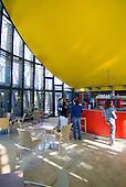 Cafeteria, centre culturel Tjibaou