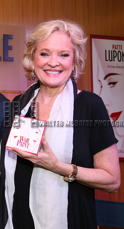 "Christine Ebersole discusses ""War Paint"" On Broadway at Barnes & Noble 86th Street on July 14, 2017 New York City."