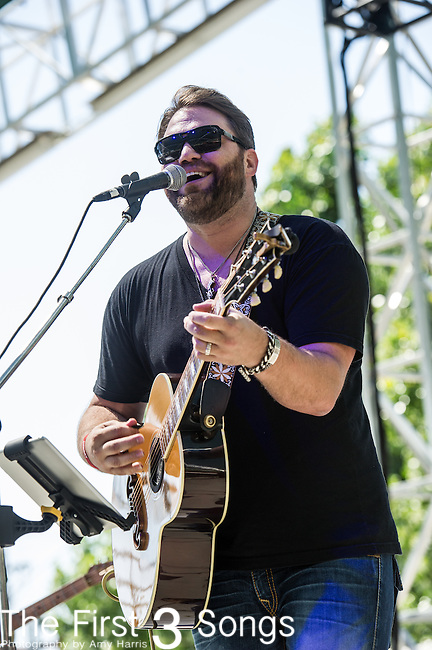 James Otto performs at the 2nd Annual BottleRock Napa Festival at Napa Valley Expo in Napa, California.