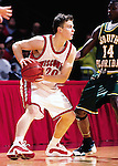 University of Wisconsin guard (20) Kirk Penney during the South Florida game at the Kohl Center in Madison, WI, on 12/30/00. Wisconsin beat South Florida in overtime, 63-61. (Photo by David Stluka)