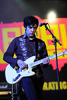 BLACKPOOL, ENGLAND - AUGUST 6: Paul Court of 'The Primitives' performing at Rebellion Festival, Winter Gardens on August 6, 2017 in Blackpool, England.<br /> CAP/MAR<br /> &copy;MAR/Capital Pictures