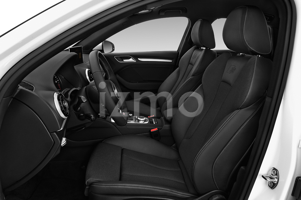 Front seat view of 2017 Audi A3 S-Line 4 Door Sedan Front Seat  car photos