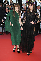 Anne-Elisabeth Bosse and Monia Chokr attends the LES MISÉRABLES premiere -72nd annual Cannes Film Festival  Cannes France on May 15 2019.<br /> CAP/GOL<br /> ©GOL/Capital Pictures