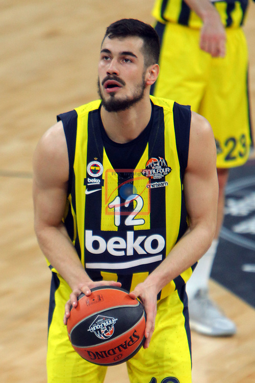 Turkish Airlines Euroleague.<br /> Final Four - Vitoria-Gasteiz 2019.<br /> Semifinals.<br /> Fenerbahce Beko Istanbul vs Anadolu Efes Istanbul: 73-92.<br /> Nikola Kalinic.