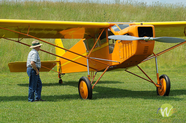 George Jenkins Fly-In. Merritt Field. 1928 Curtis Robin