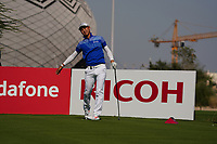 Min Woo Lee (AUS) on the 11th during Round 1 of the Commercial Bank Qatar Masters 2020 at the Education City Golf Club, Doha, Qatar . 05/03/2020<br /> Picture: Golffile | Thos Caffrey<br /> <br /> <br /> All photo usage must carry mandatory copyright credit (© Golffile | Thos Caffrey)