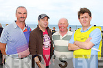 ENABLE IRELAND: The organizers of the Enable Ireland Kerryhead Triathlon at Ballyheigue on Saturday l-r: Ger Fitzgibbon (swim marshal), Bernard Hehir (Irish coastguard), Mikey Harkin (triathlon organizer) and Sean Scally (Enable Ireland).