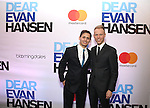 Benj Pasek and Justin Paul attends the Broadway Opening Night After Party for 'Dear Evan Hansen'  at The Pierre Hotel on December 3, 2016 in New York City.
