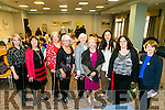 "Speakers Elaine Kinsella, Radio Kerry, Sonia Elston, Kerry Women Writers' Network, Martine Brennan, Kerry Women Writers' Network, Lily Tangney, Kerry Women Writers' Network, Felicity Hayes-McCoy, Author, Collette Nunan Kenny (Fenit), Chairperson Kerry Women Writers' Network, Caitriona O Sullivan, singer, song writer, Margaret Sheehan, Kerry Women Writers' Network, and Dr Fiona Brennan, Kerry Women Writers' Network at the Kerry Women Writers' Network  ""fearless and imaginative"". Women and Writing: Responses to the Rising at the Rose Hotel on Friday"