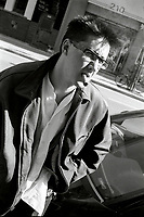 Montreal (Qc) CANADA - Oct 1 1996<br /> -File Photo -<br /> Paul Marchand , journalist ,war correspondant and author of Sympathie pour le Diable (Lanctot editeur, 1997)