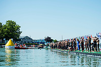 Start <br /> Men's 10km Final<br /> Open Water Swimming Balatonfured<br /> Day 05 18/07/2017 <br /> XVII FINA World Championships Aquatics<br /> Lake Balaton Budapest Hungary<br /> Photo @ A.Masini/Deepbluemedia/Insidefoto