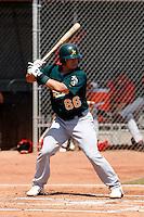 Josh Donaldson - Oakland Athletics - 2009 spring training.Photo by:  Bill Mitchell/Four Seam Images