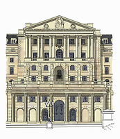Illustration of the Bank of England