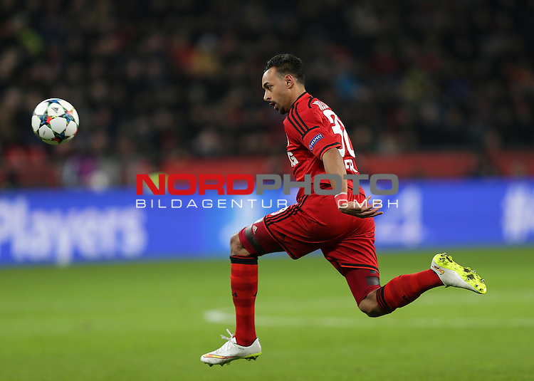 25.02.2015, Bay-Arena, Leverkusen, Championsleague, Bayer 04 Leverkusen vs. Atletico Madrid<br /> Karim Bellarabi (Leverkusen)<br /> Foto &copy; nordphoto /  Bratic