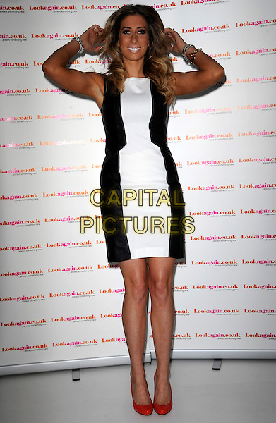 LONDON, ENGLAND - FEBRUARY 26: Stacey Solomon attends a photocall as she's announced as the face of Lookagain.co.uk at Vanilla on February 26, 2014 in London, England.<br /> CAP/AOU<br /> &copy;AOU/Capital Pictures