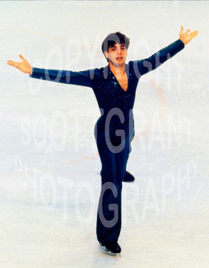 Brian Pockar Canadian figure skater. Photo copyright Scott Grant