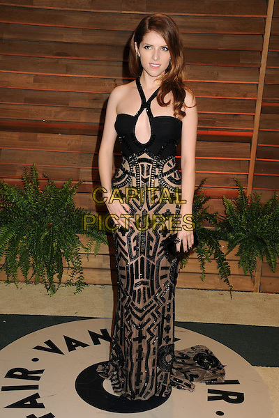 02 March 2014 - West Hollywood, California - Anna Kendrick. 2014 Vanity Fair Oscar Party following the 86th Academy Awards held at Sunset Plaza.  <br /> CAP/ADM/BP<br /> &copy;Byron Purvis/AdMedia/Capital Pictures