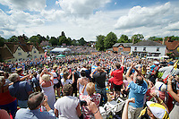 MASSIVE crowds throughout the whole of the Britain stages, but the village of Finchingfield really blew us away with their enthusiasm<br /> <br /> 2014 Tour de France<br /> stage 3: Camebridge-London (155km)