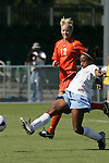 7 November 2007: North Carolina's Nikki Washington (26) scores the game's first goal, in the first half. The University of North Carolina defeated Clemson University 3-0 at the Disney Wide World of Sports complex in Orlando, FL in an Atlantic Coast Conference tournament quarterfinal match.