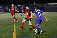 Buffalo, NY - Saturday Sept. 17, 2016: Elizabeth Eddy, Alisa Rukpinij during a friendly international match between the Western New York Flash and the Women's National Team of Thailand at Demske Sports Complex at Canisius College. The United States defeated the Netherlands 3-1.