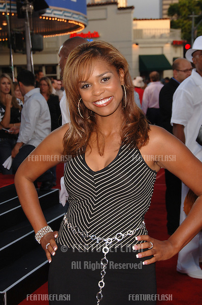 "Actress KIMBERLY BROOKS at the world premiere, in Los Angeles, of ""Miami Vice."".July 20, 2006  Los Angeles, CA.© 2006 Paul Smith / Featureflash"