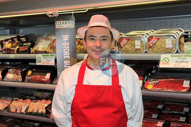 Colin Bradley (Butcher) at Gerry's Fresh Foods in Bryanstown on Friday 14th November 2014.<br /> Picture:  Thos Caffrey / www.newsfile.ie