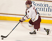 Jesper Mattila (BC - 8) - The visiting Boston University Terriers defeated the Boston College Eagles 3-0 on Monday, January 16, 2017, at Kelley Rink in Conte Forum in Chestnut Hill, Massachusetts.
