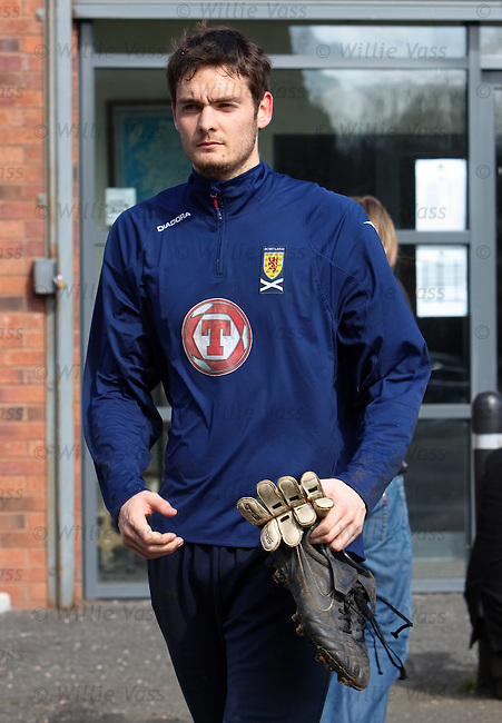 Craig Gordon leaving after training