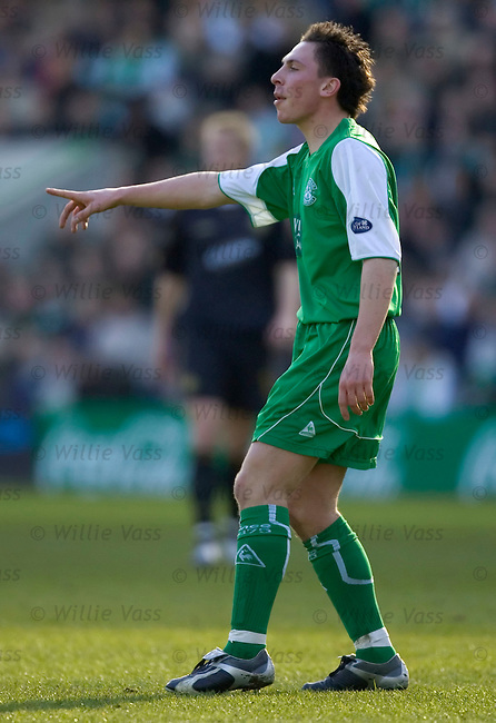 Scott Brown, Hibs.stock season 2004-2005.pic willie vass