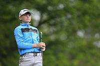 Charlie Quinn (Castle) during the Connacht U14 Boys Amateur Open, Ballinasloe Golf Club, Ballinasloe, Galway,  Ireland. 10/07/2019<br /> Picture: Golffile | Fran Caffrey<br /> <br /> <br /> All photo usage must carry mandatory copyright credit (© Golffile | Fran Caffrey)