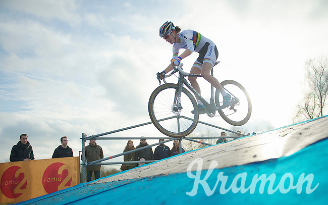 Marianne Vos (NLD) can fly<br /> <br /> Leuven Soudal Classic 2014