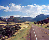 USA, Wyoming, Chief Joseph Scenic Highway, the road to Yellowstone National Park
