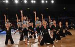 """09.11.2019,  GER; Tanzen, 1. Bundesliga der Lateinformationen, Deutsche Meisterschaften, Vorrunde, im Bild Blau-Weiss-Buchholz A mit dem Thema """"A Million Voices""""  Foto © nordphoto / Witke"""