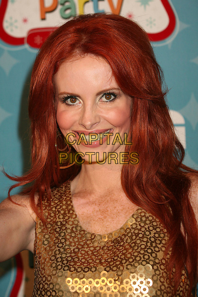 PHOEBE PRICE.LG Mobile Phones Hosts Mobile TV Party and LG VX9400 Launch at Paramount Studios, Los Angeles, California, USA..June 19th, 2007.headshot portrait gold discs circles hoops sequined sequins .CAP/ADM/BP.©Byron Purvis/AdMedia/Capital Pictures