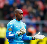 Nederland, Utrecht, 23 december 2012.Eredivisie .Seizoen 2012-2013.FC Utrecht-Ajax.Kenneth Vermeer, keeper (doelman) van Ajax