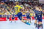 Jerry TOLLBRING (#17 Rhein-Neckar Loewen) \ beim Spiel in der Handball Bundesliga, SG BBM Bietigheim - Rhein Neckar Loewen.<br /> <br /> Foto &copy; PIX-Sportfotos *** Foto ist honorarpflichtig! *** Auf Anfrage in hoeherer Qualitaet/Aufloesung. Belegexemplar erbeten. Veroeffentlichung ausschliesslich fuer journalistisch-publizistische Zwecke. For editorial use only.