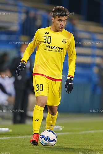 Cristiano (Reysol), March 3, 2015 - Football / Soccer : 2015 AFC Champions League Group E match between Kashiwa Reysol 5-1 Binh Duong at Hitachi Kashiwa Stadium in Chiba, Japan. (Photo by Yusuke Nakanishi/AFLO SPORT) [1090]