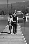 Singapore Couple Wai &amp; Nicky visit Bass Lake and Nelder Grove, Yosemite California<br />