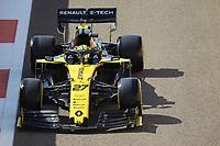 29th November 2019; Yas Marina Circuit, Abu Dhabi, United Arab Emirates; Formula 1 Abu Dhabi Grand Prix, practice day; Renault Sport F1 Team, Nico Hulkenberg - Editorial Use