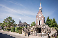 Kapel Onze-Lieve-Vrouw-van-Lourdes / St Mary of Lourdes chapel in the Kapellestraat in Lierde<br /> <br /> cycling hotspots & impressions in the Vlaamse Ardennen (Flemish Ardennes) along the 181km Spartacus (Chasing Cancellara) cycling route<br /> <br /> Cycling In Flanders <br /> Flanders Tourist Board<br /> <br /> ©kramon
