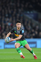 Marcus Smith of Harlequins finds space during Big Game 12 in the Gallagher Premiership Rugby match between Harlequins and Leicester Tigers at Twickenham Stadium on Saturday 28th December 2019 (Photo by Rob Munro/Stewart Communications)