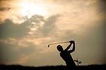 TAOYUAN, TAIWAN - OCTOBER 27:  Catriona Matthew of Scotland tees off on the 16th hole during the day three of the Sunrise LPGA Taiwan Championship at the Sunrise Golf Course on October 27, 2012 in Taoyuan, Taiwan.  Photo by Victor Fraile / The Power of Sport Images