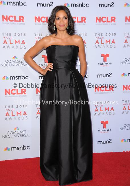 Rosario Dawson attends The 2013 NCLR ALMA Awards held at the Pasadena Civic Auditorium in Pasadena, California on September 27,2012                                                                               © 2013 DVS / Hollywood Press Agency