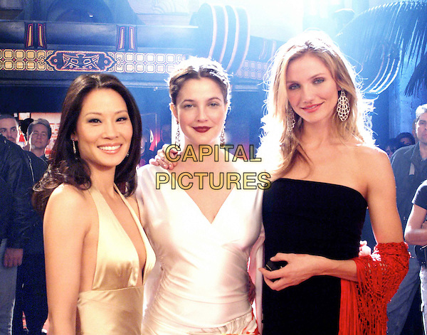 (l to r) Lucy Liu, Drew Barrymore and Cameron Diaz star in Columbia PicturesÍ action comedy CharlieÍs Angels: Full Throttle....Ref: FB.Supplied by Capital Pictures.*Film Still - Editorial Use Only*.Tel: +44 (0)20 7253 1122.www.capitalpictures.com.sales@capitalpictures.com.f/sd016