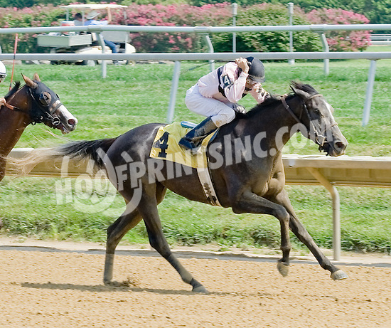 Nisbet winning at Delaware Park on 8/27/12