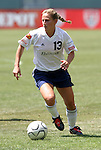 27 June 2004: Kristine Lilly. The Philadelphia Charge defeated the San Jose CyberRays 2-0 at the Home Depot Center in Carson, CA in Womens United Soccer Association soccer game featuring guest players from other teams.