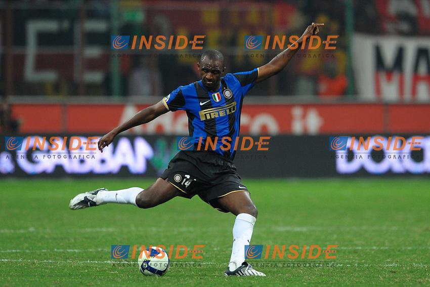 Patrick Vieira (Inter)<br /> Milano 28/9/2008 Stadio &quot;Giuseppe Meazza&quot;<br /> Campionato Italiano Serie A 2008/2009<br /> Milan Inter (1-0)<br /> Foto Andrea Staccioli Insidefoto