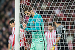 Jordi Alba Ramos of FC Barcelona reacts during their Copa del Rey Round of 16 first leg match between Athletic Club and FC Barcelona at San Mames Stadium on 05 January 2017 in Bilbao, Spain. Photo by Victor Fraile / Power Sport Images