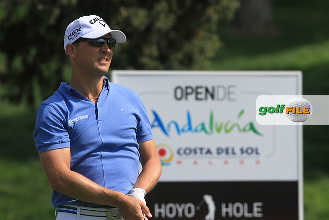 Niclas Fasth (SWE) on the 13th tee on Day 3 of the 2012 Open de Andalucia Costa del Sol at Aloha Golf Club, Marbella, Spain....(Photo Jenny Matthews/www.golffile.ie)